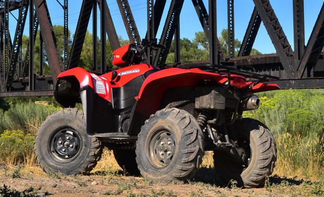 2014 Suzuki KingQuad 750 EPS Beauty
