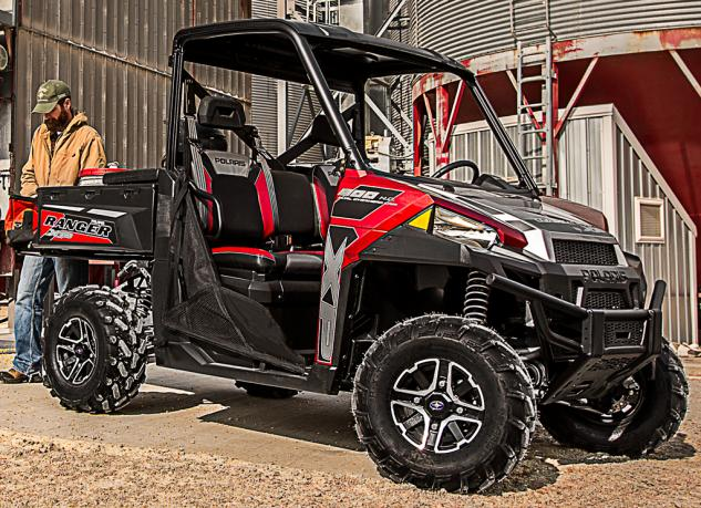 2015 Polaris Ranger XP 900 EPS Red Silver