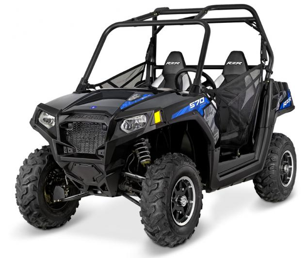 2015 Polaris RZR 570 EPS Black Pearl