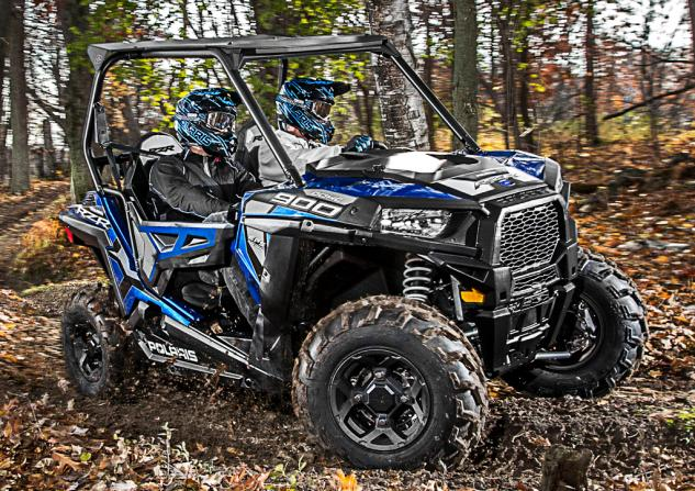 2015 Polaris RZR 900 EPS Trail Blue Fire