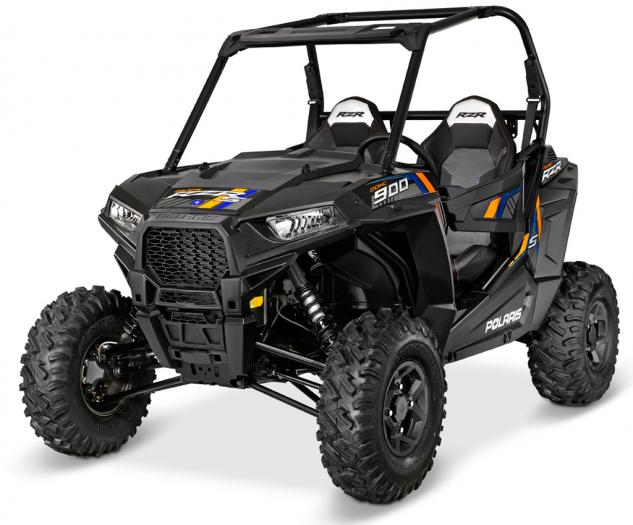 2015 Polaris RZR S 900 EPS Stealth Black