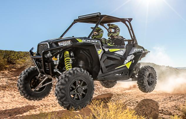 2015 Polaris RZR XP 1000 FOX Edition Action Left