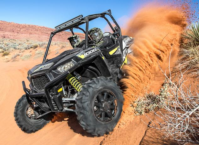 2015 Polaris RZR XP 1000 FOX Edition Action Berm