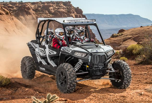 2015 Polaris RZR XP 1000 White Lightning Monochrome