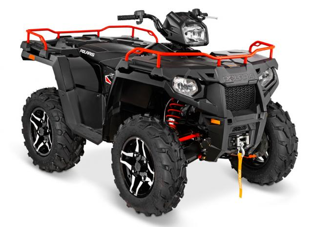 2015 Polaris Sportsman 570 SP LE Black Pearl