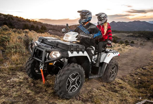 2015 Polaris Sportsman Touring XP 1000 White Pearl Metallic