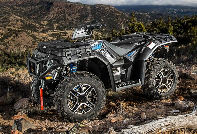 2015 Polaris Sportsman XP 1000 Titanium Matte Metallic