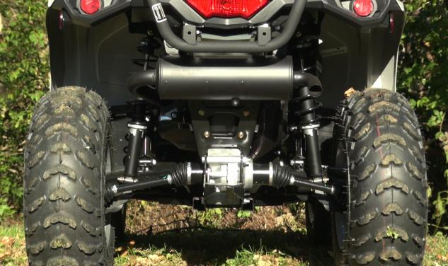 2015 Can-Am Outlander L 500 Rear Low