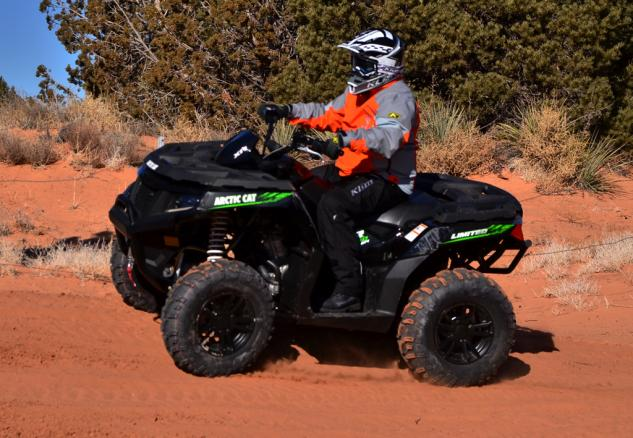 2015 Arctic Cat XR ATV Action Left