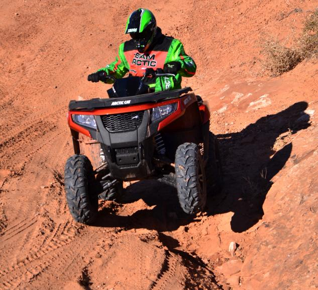 2015 Arctic Cat XR ATV Action Suspension