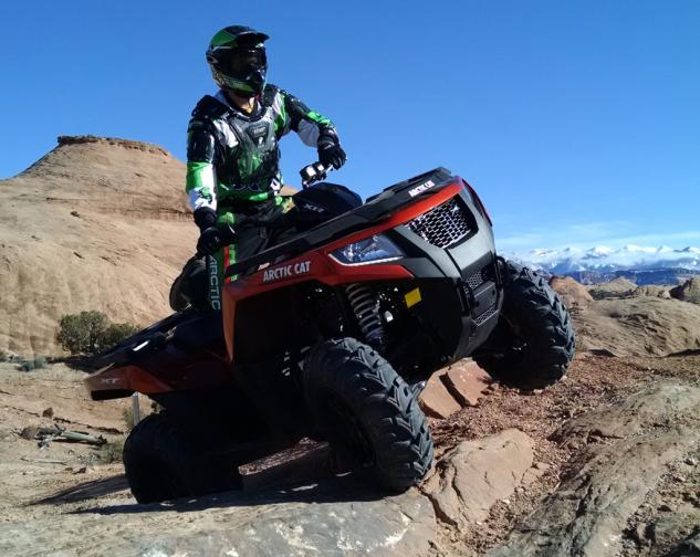2015 Arctic Cat XR ATV Action Beauty