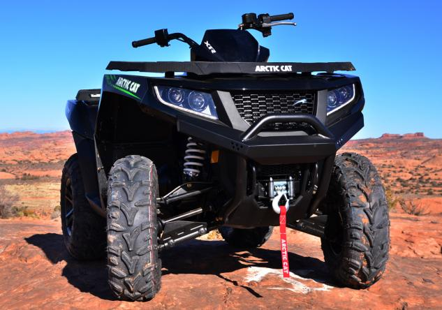 2015 Arctic Cat XR ATV Front