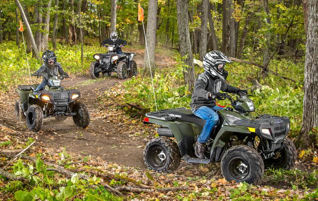 2016 Polaris Sportsman 110 Action