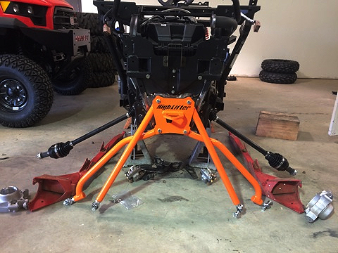 High Lifter ACE A-arms