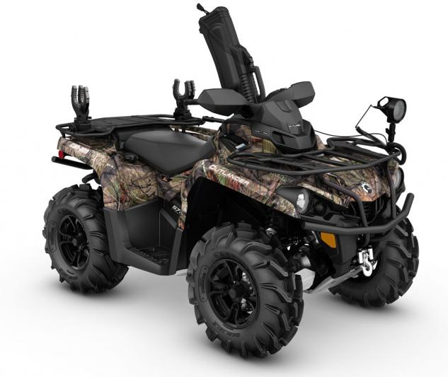 2016 Can-Am Outlander L Mossy Oak Hunting Edition Front Right