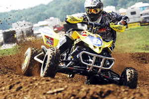 Josh Creamer took his third straight overall, and fifth of the season at Muddy Creek Raceway.