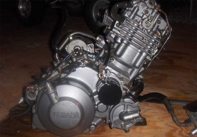 Yamaha 660 Engine