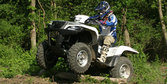 2009 Suzuki KingQuad 750 Power Steering Review