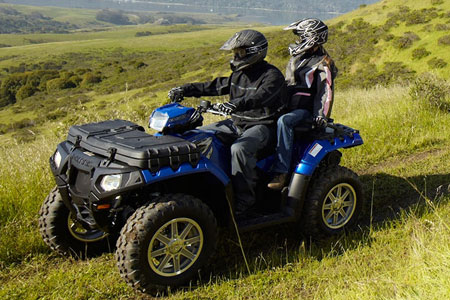 The Sportsman 850 Touring EPS will be in the mix for best overall 2-up ATV.