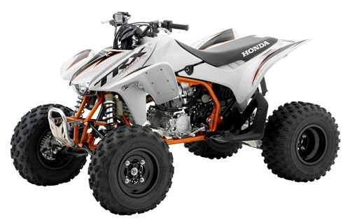 Used Yamaha Four Wheelers For Sale The TRX450R resurfaces in Honda's new model lineup for the first time ...