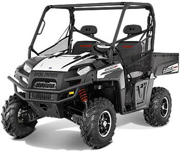 2013 Polaris Ranger 800 EPS Black/White Lightning LE