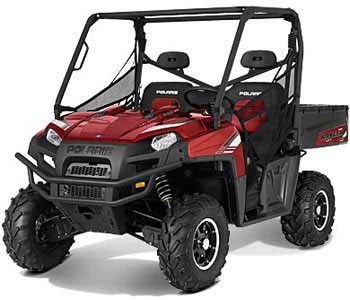 2013 Polaris Ranger 800 EFI Sunset Red LE