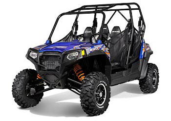 2013 Polaris Ranger RZR 4 800 EPS Blue Fire/Orange LE