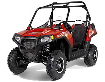 2013 Polaris Ranger RZR 800 Sunset Red LE