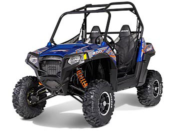 2013 Polaris Ranger RZR S 800 Blue Fire/Orange LE