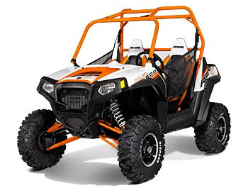2013 Polaris Ranger RZR S 800 Orange/White LE