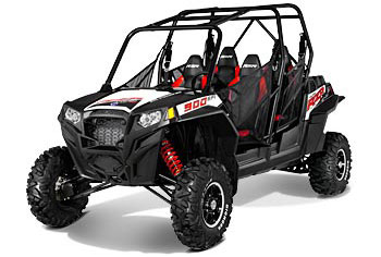 2013 Polaris Ranger RZR XP 4 900 EPS Black/White/Red LE