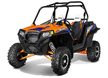 2013 Polaris Ranger RZR XP 900 EPS Orange Madness/Blue LE