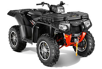 2013 Polaris Sportsman XP 550 EPS Stealth Black LE