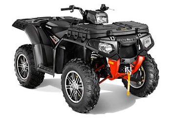 2013 Polaris Sportsman XP 850 H.O. EPS Stealth Black LE