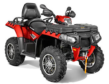 2013 Polaris Sportsman Touring 850 H.O. EPS Sunset Red LE