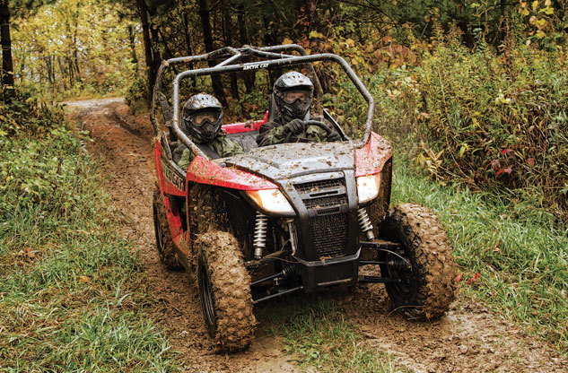 2014 Arctic Cat Wildcat Trail Action Front