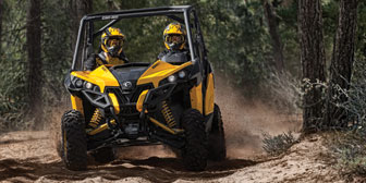 2014 Can-Am Maverick 1000R X xc Review - Video