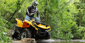 2014 Can-Am Outlander 500 Review - Video