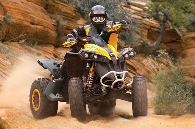 2014 Can-Am Renegade 1000 vs  Polaris Scrambler 1000 - Specs