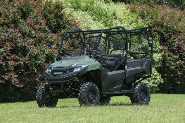 The 2014 Honda Pioneer 700 Is Available In Two And Four Seat Models
