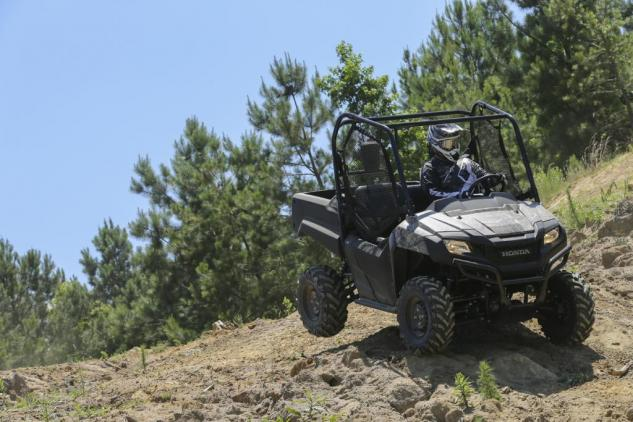 2014 Honda Pioneer 700 Action Front