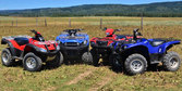 2014 Japanese Big Bore Utility ATV Shootout + Video