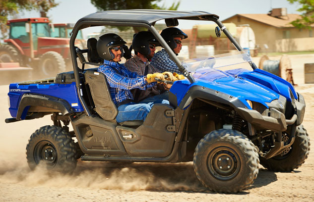 The age of multi passenger utvs for Yamaha viking 3 seater