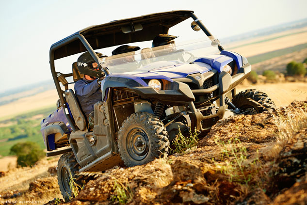 Yamaha Viking Trail Action