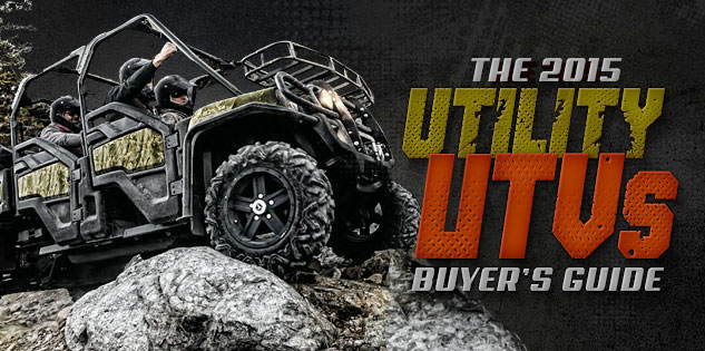 2015 Utility UTVs Buyer's Guide