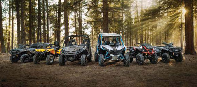 2016 Can-Am Off-Road Lineup