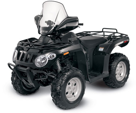 2011 Arctic Cat 366 4x4 SE in Metallic Black