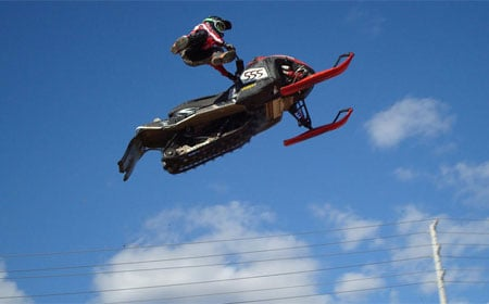 Some of the top freestyle snowmobilers in the world will be putting on a show in Toronto.