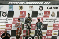 Holmes, Schreiber and Yamaha rider Matthieu Ternynck on the podium.