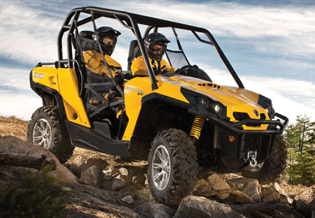 BRP gives the XT treatment to the Commander 800R (pictured) and the Commander 1000.